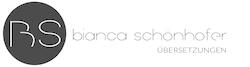 Bianca Schönhofer, MA Logo